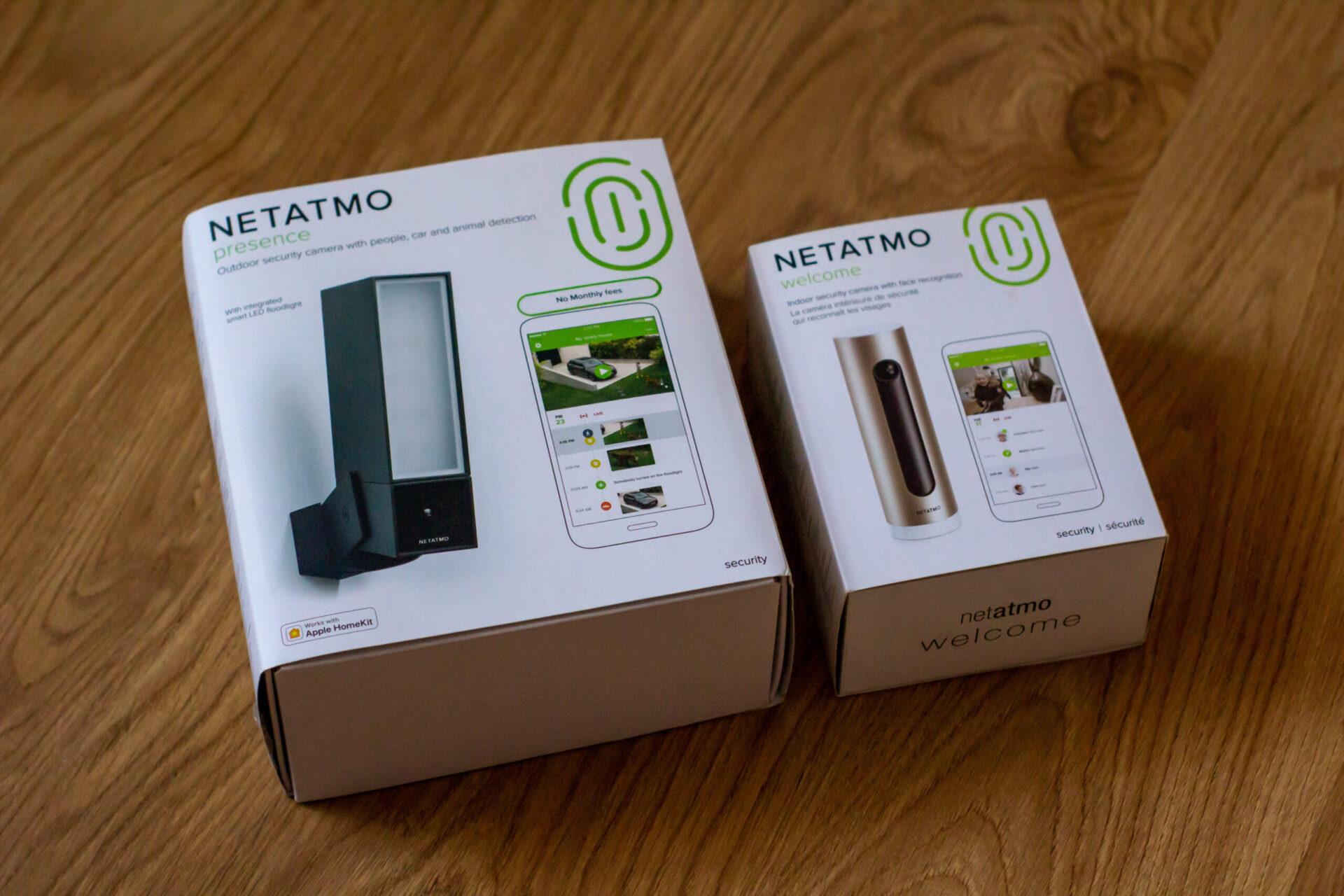 Netatmo Welcome + Presence