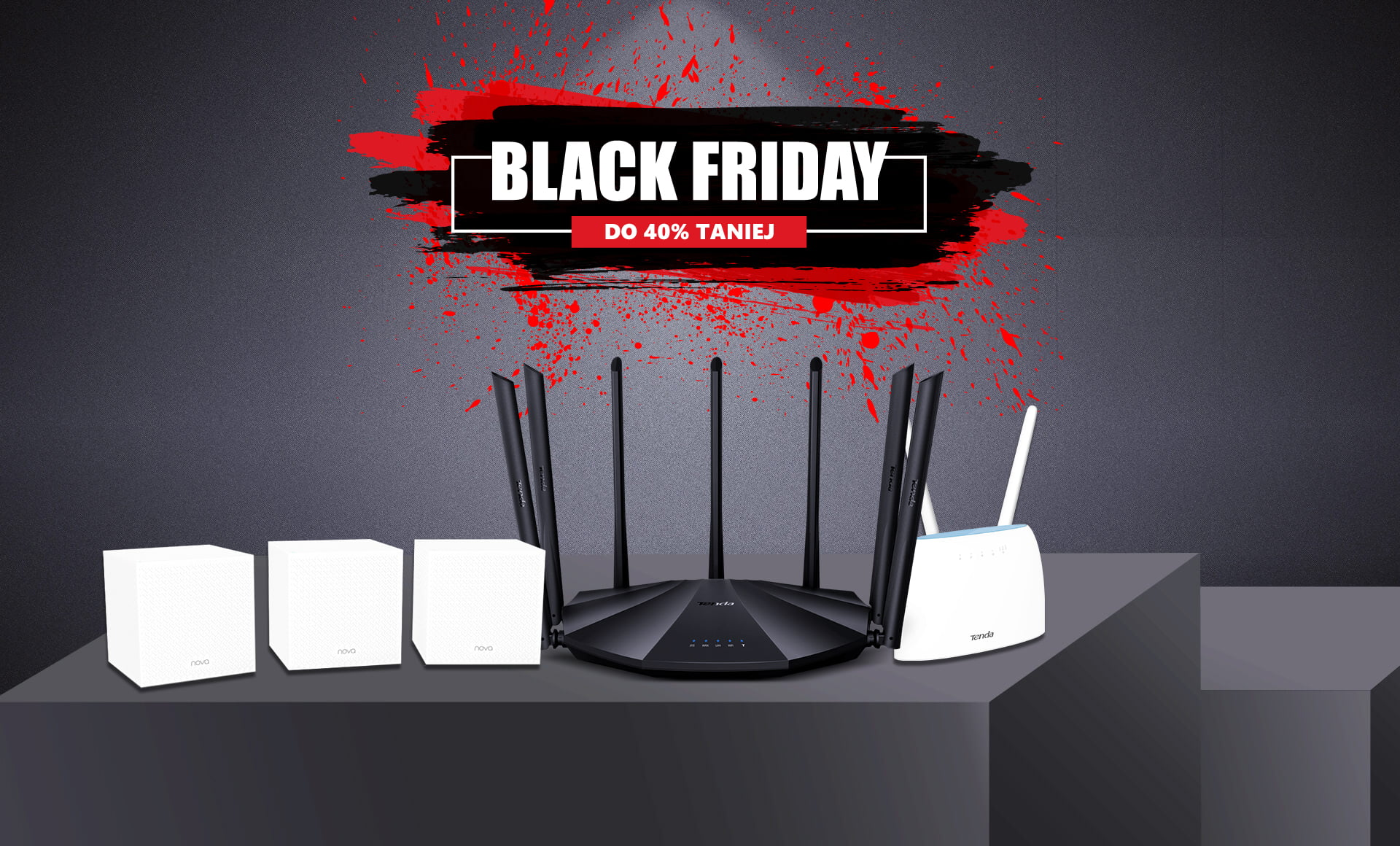 Tenda Black Friday